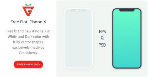 flat iphone  graphberrycom