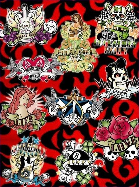Best 25+ Rockabilly Tattoo Designs Ideas On Pinterest