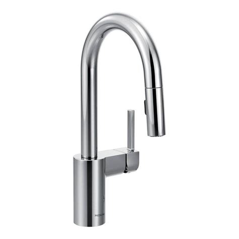 moen bar sink faucet moen arbor single handle pull down sprayer bar faucet