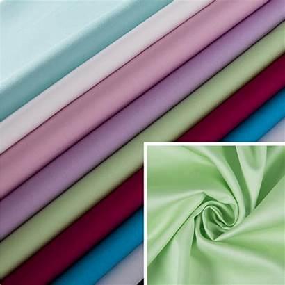 Fabric Silk Cotton Satin Wrinkle Liquid Ammonia