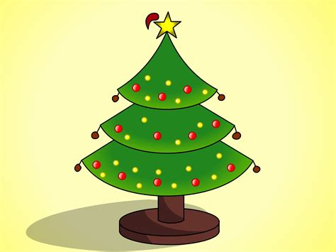 draw christmas trees  pictures wikihow