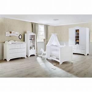 Kinderzimmer In Weiß : komplett kinderzimmer pino kinderbett wickelkommode und kleiderschrank 2 trg kiefer wei ~ Indierocktalk.com Haus und Dekorationen