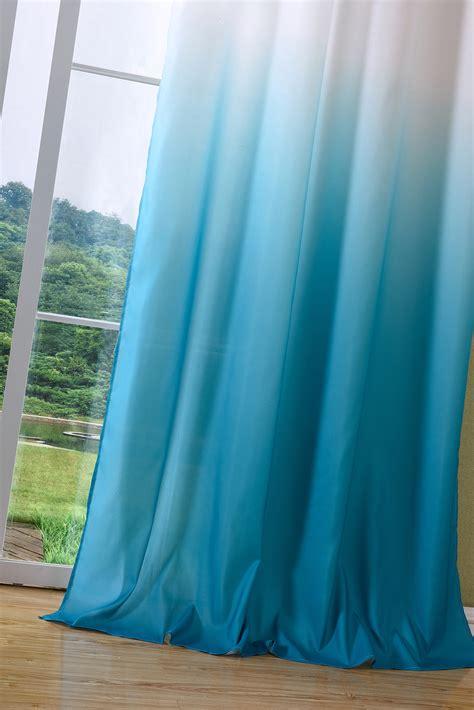 Vorhänge Schals Günstig vorhang blickdicht schal 214 sen gardine microsatin farbverlauf