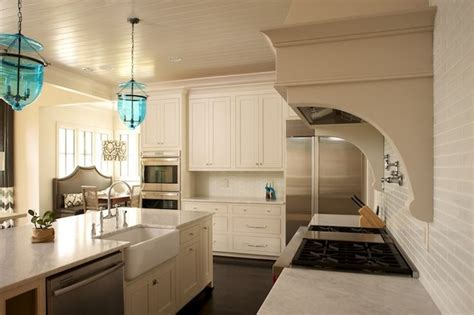 twin companies kitchens beadboard ceilingmini glass