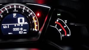 Honda Civic Hatckback 2018 Night Dashboard  U0026 Indoor Light