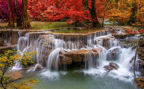Wallpaper Photos Of by Waterfalls Wallpaper Nature Landscape Waterfall Hd