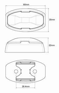 White Front Marker Lamp  U2013 Loadstar Trailer Parts