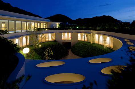 Villa Ronde Bioclimatique à Chiba