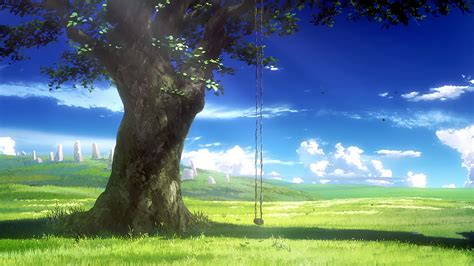 Anime Nature Wallpaper - anime nature wallpaper 77 images