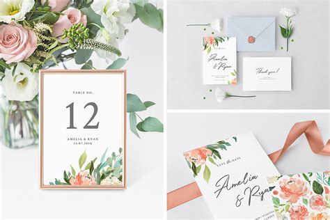 Real Flower Background Images Free Invitation Card Envelope On Behance