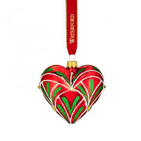 2016 holiday heirlooms christmas eve heart ornament by