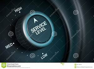 High service level stock illustration. Illustration of ...