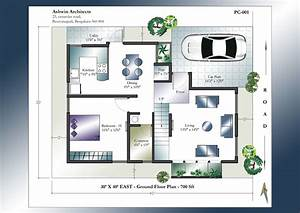 30 X 40 House Plans East Facing House Plan Home Plans