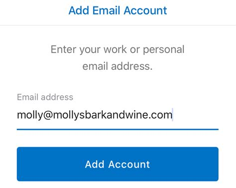 Office 365 Mail Account On Iphone by Setting Up Office365 On Your Iphone Using Outlook App