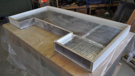 adding a kitchen island patio bar plans concrete counter and cedar base