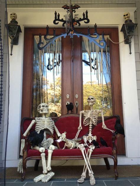 imagenes de halloween  ideas  decorar la puerta