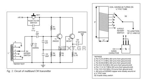 transmitter circuit page 3 rf circuits next gr