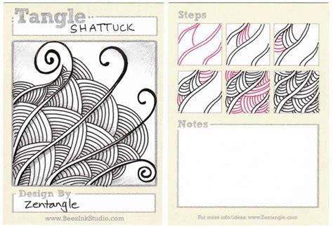Shattuck Tangle Pattern