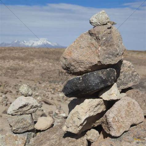 Steine Aufeinander Gestapelt by Stacked Stones Peru South America