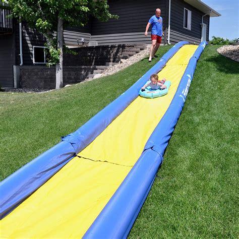 Best Backyard Water Slides by Sports 174 02471 Turbo Chute Water Slide Backyard