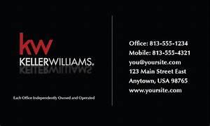 Keller williams business card templates full color for Keller williams business card templates