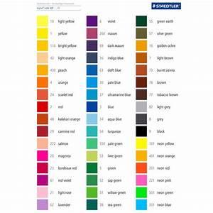 16 Best Nuancier Feutre Images On Pinterest Color Charts