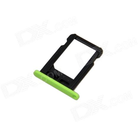 replacement sim card tray for green iphone 5c green