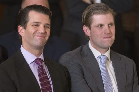 trump donald jr sons gorsuch neil eric university four business outside did mark run businesses ct