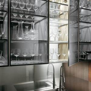 Kitchen minimalist transparent glass kitchen wall for Kitchen cabinets lowes with metal wall art with crystals