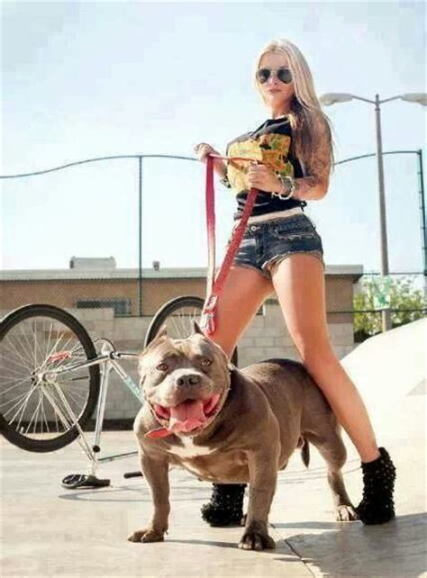 Best Images About Pitbulls And Girls On Pinterest