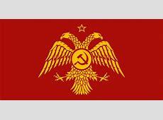 Communist Byzantine flag by KHaderach on DeviantArt