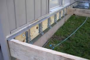 deck building deck building joist hangers