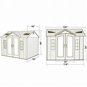 Lifetime 60005 Garden Shed 10 X 8 On Sale With Fast  U0026 Free Shipping