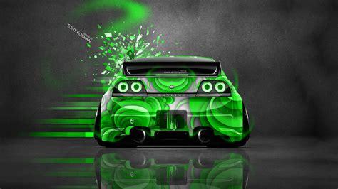 Nissan Gtr Wallpaper Green by Nissan Skyline Gtr R33 Back Jdm Domo Kun Car 2014 El