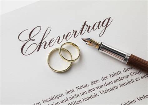 Ehe Scheidung Und Ehevertrag Bei Wohneigentuemern by Ehevertrag Kosten