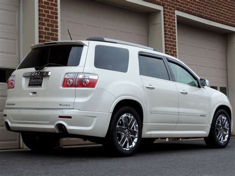 gmc acadia denali awd stock   sale