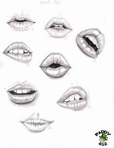 study of lips by paddy852 on DeviantArt
