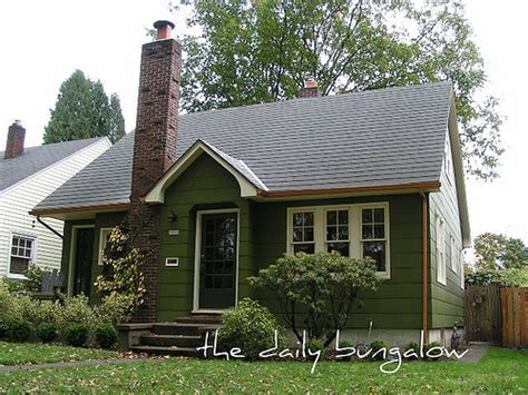 exterior color schemes green paint colors for the