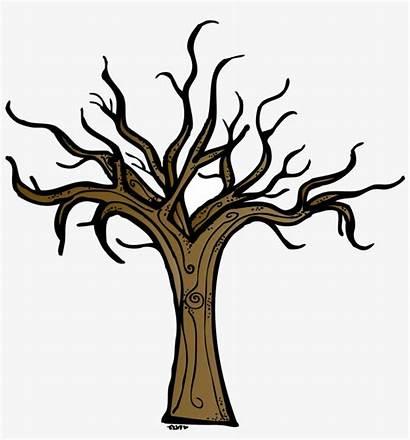 Trunk Tree Clip Dead Clipart Bare Transparent