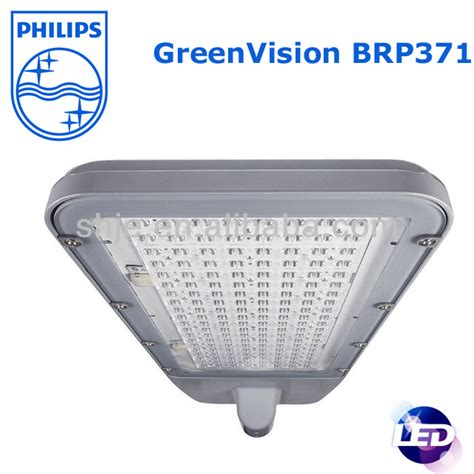 philips solar led lighting brp371 55w for road