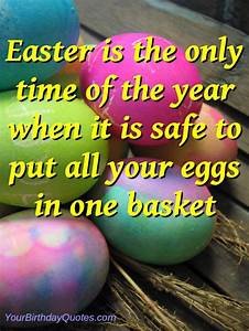 Happy Easter - Funny Quotes & Sayings #1 ...