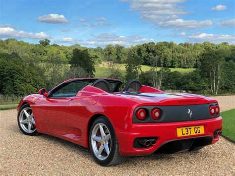 The ferrari 360 spider, quite possibly the best f1 sounding naturally aspirated v8 that ferrari has ever produced. 2001 Ferrari 360 F1 Spider | Challenge Grilles | PPF For Sale | Car And Classic
