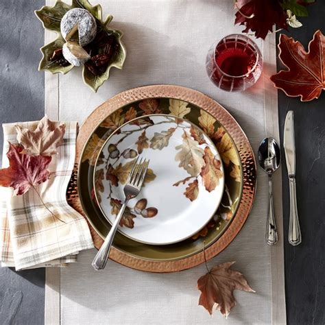 hammered copper charger plate williams sonoma