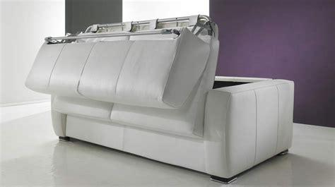 canape blanc pas cher canapé lit rapido en cuir de vachette pas cher