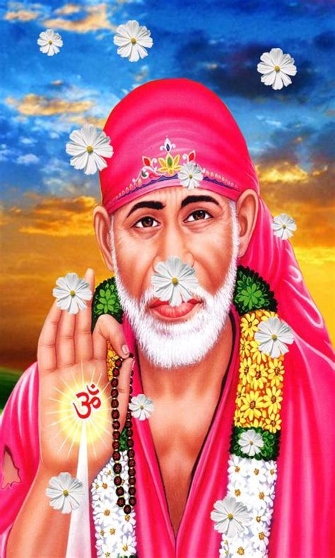 Sai Baba Animated Wallpaper For Mobile - sai baba live wallpaper android apps on play