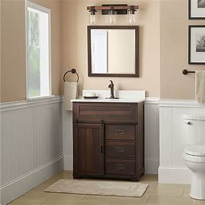 Style Selections Bathroom Vanity W Tops 315quot Or 30