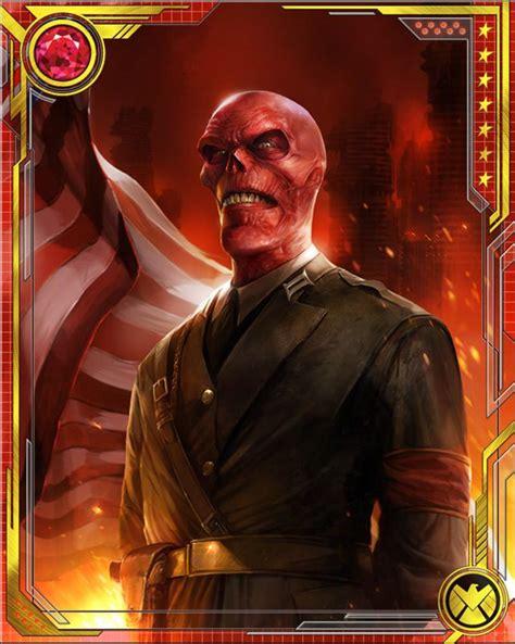 president red skull marvel war  heroes wiki