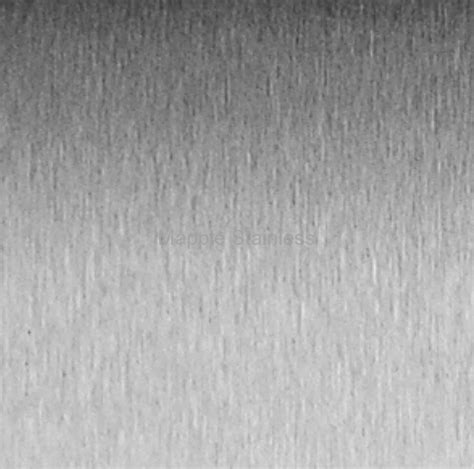 Stainless Steel No 4 Satin Finish Sheets  Mapple