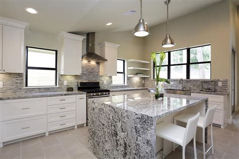 kitchen island with seating for 6 waterfall kitchen island design decor pictures ideas