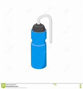 Sport Water Bottle Cartoon Icon Stock Vector - Image: 79697588
